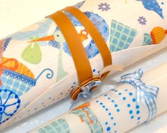 Baby Boy Greek Easter Candle, Easter Candles, Wooden Box, Easter Lambada, AnthiCreativeTouch, Greek Lambada, Gift for Baby Boy, Lambada