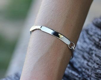Silver Utensil Bracelet