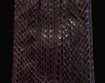Vintage Judith Leiber Snake Skin Wallet
