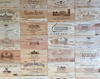Choose! French Wine Crate Panel