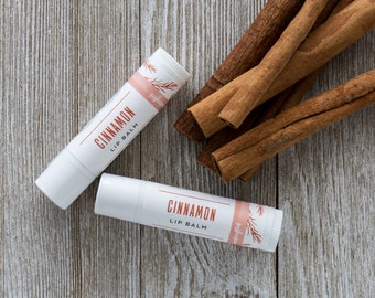 Organic Cinnamon Lip Balm