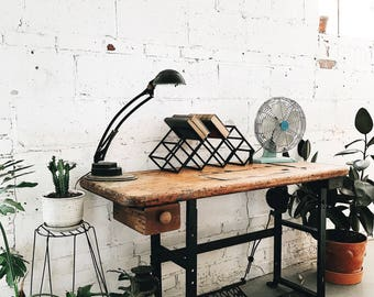 SALE- Vintage Sewing Machine Table | Desk | Work Station | Console-LOCAL PICKUP only