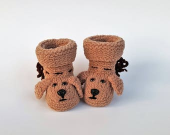 Handmade Baby Puppy Booties