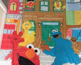 Vintage Sesame Street kids blanket