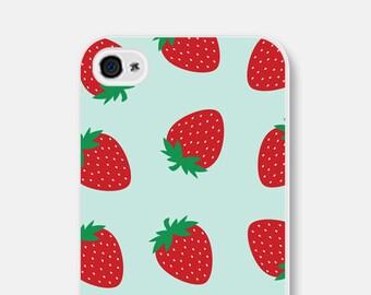 iPhone 6s Case Strawberries Samsung Galaxy S6 Case Strawberries iPhone 5s Case Fruit iPhone 6 Plus Case Blue iPhone 5c Case iPhone 6 Case