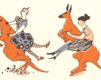 Kangaroo Riding