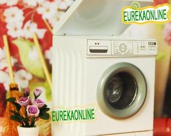 Miniature dolls house modern washing machine
