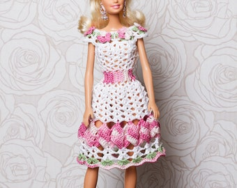 dress for Barbie clothing for Barbie clothes for dolls barbie clothing outfit for Barbie платье для Барби одежда для Барби всё для Барби