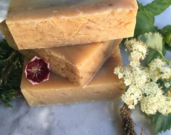 Mountain Morning, Organic Handmade Luxury Soap, Organic Cold Process Soap, Men's Soap, Organic Vegan Soap