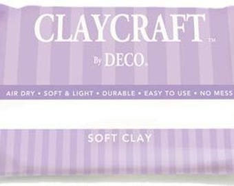 CLAYCRAFT™ by DECO® Soft Clay, Decoclay ( White )