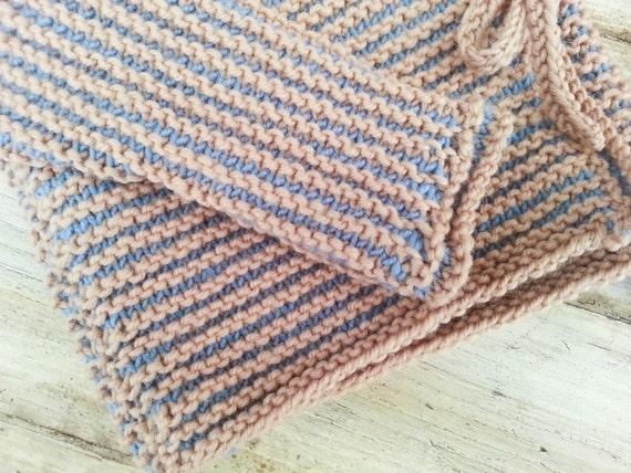 Knitting Pattern Baby Wrap Cardigan Baby Sweater 7 Sizes One