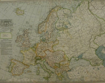France spain map etsy europe mapmap of europeengland norway iceland france spain finland russia italy turkey gumiabroncs