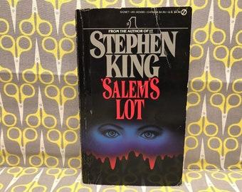 Salems Lot by Stephen King paperback book vintage horror
