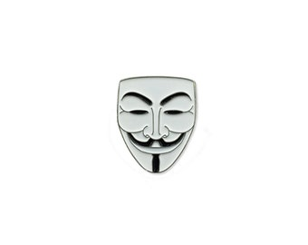 Guy Fawkes Enamel Lapel Pin