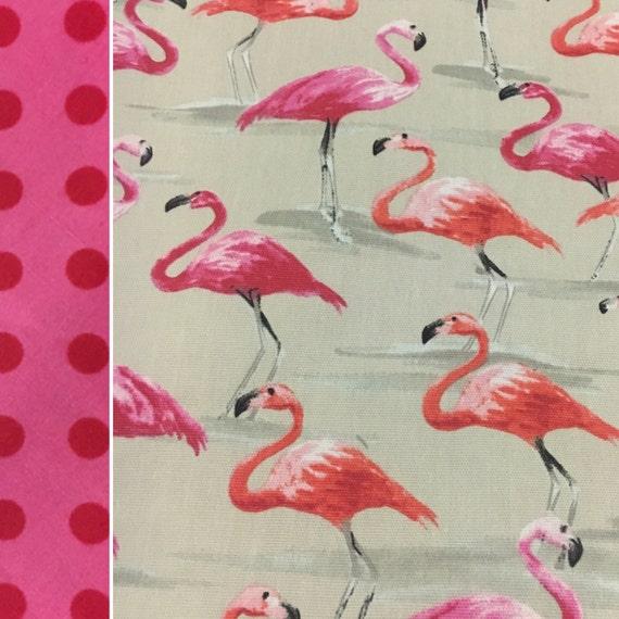 Pink Flamingo Picnic Blanket Waterproof Picnic Blanket