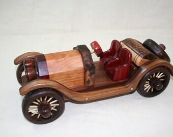 Stutz Bearcat wood toys handmade