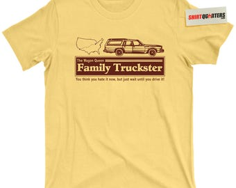 Clark W Griswold Wagon Queen Family Truckster Walley World National Lampoons Christmas Vegas European Vacation Chevy Chase movie Tee T Shirt