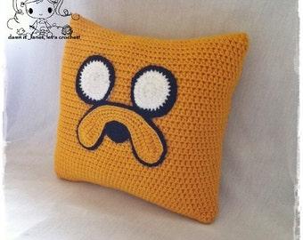 Jake the Dog Pillow - PDF Crochet Pattern - Instant Download