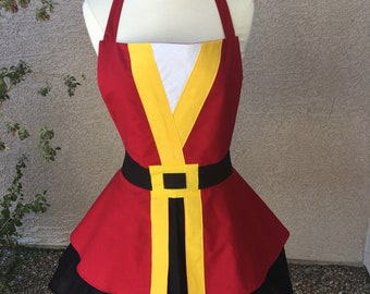 Captain Hook costume apron dress