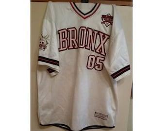 FUBU jersey, BRONX t-shirt, vintage New York shirt, City Series, 90s hip-hop clothing, 1990s hip hop rap og, NYC, size xxl 2XL