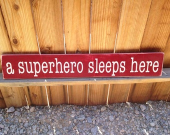 6x30 A Superhero Sleeps Here
