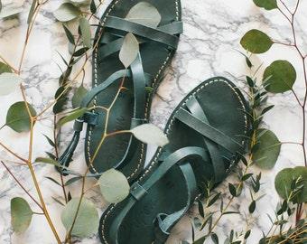 Greek Sandals, Turquoise Summer Sandals, Gladiator Sandals, Leather Sandals, Strappy Sandals, Summer Sandals, Greek Leather Sandals