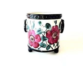 1920s Hand Painted Erphila Art Pottery from Czechoslovakia