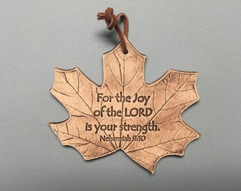 Nehemiah 8:10, for the joy of the Lord is your strength, scripture gift, house warming gift
