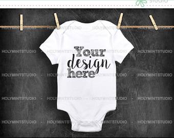 Baby  Jumpsuit Mockup, Baby Mockup,  Jumpsuit Mockup, Bodysuit Mockup, Baby Clothes Mockup, Baby  Jumpsuit , White Bodysuit Mockup, Mockup