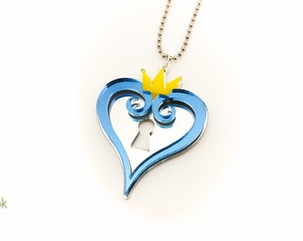 Kingdom Hearts Lasercut Pendant