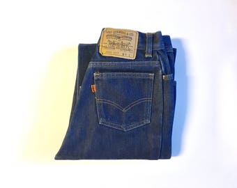 Vintage Women's 80's Levi's Jeans, Fully Lined, High Waisted, Denim (XS)
