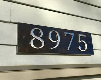 Address Sign, Address Plaque, Rustic Address Sign, Welcome Sign, Rustic Home Decor, Farmhouse Decor, Rustic Welcome Sign,