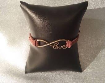Double infinity  love bracelet