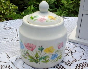 Vintage Kowloon Pattern James Sadler Sugar Bowl and Lid