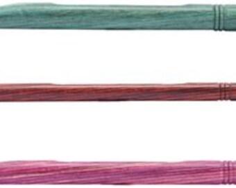 10mm (N/15) Dreamz Crochet Hook, polished wood, 10mm Aquamarine,