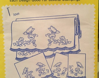 Aunt Martha's Hot Iron Transfers - 10 envelopes - unused