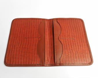 Passport holder, Brown Passport case, Passport Wallet, Passport Case, Brown passport wallet, Travel wallet