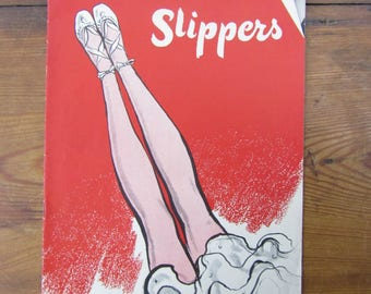 Vintage Slippers craft book Star No 47