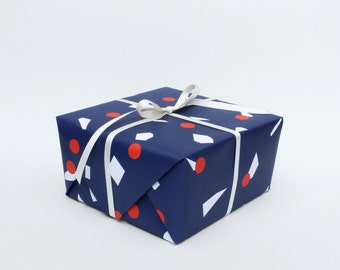 Parade Wrapping Paper - Blue