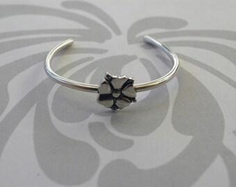 Little Blossom Baby Bracelet in Sterling Silver