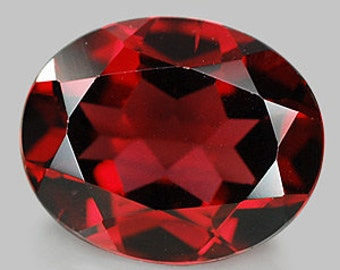 8x10mm NATURAL GARNET OVAL 8x10mm faceted red garnet 8x10mm oval cut super nice quality gemstone january birthstone garnet 8x10mm oval red