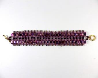 Purple reflections Bracelet