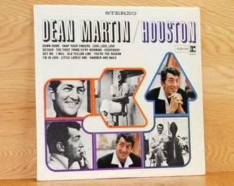Dean Martin - Houston - Reprise Records RS-6181 - Vintage 33 1/3 LP Record - 1965