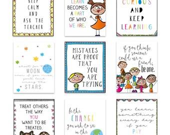 Classroom Decor, Classroom Wall Art, Back to School Art, Playroom Art Prints, Kids Wall Art, Homeschool, Classroom Art Prints, Printable Art