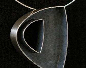 modern structural pendant