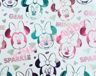 Minnie Mouse Gift Gift Wrapping Paper Disney