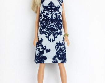 60 's Style dress for Barbie. The 60s style dress for Barbie.