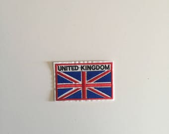 United Kingdom iron on patch