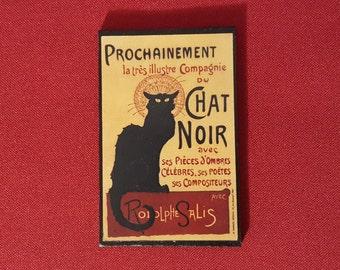 Chat Noir Magnet handmade