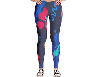 Sport Leggings, Gym Pants, AdoreDesignBoutique